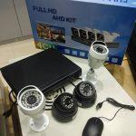 AHD CCTV 4 CAM – منظومة كاميرات مراقبة رباعية